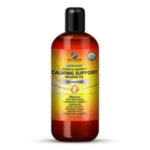 Andy Anand Calming Support Hemp Oil with Melatonin for Pets