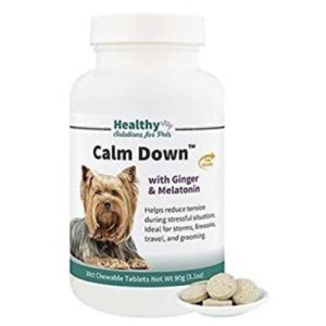Calm Down Calming Aid Tablets for Dogs