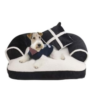 Clovly Paws Premium Sofa Pet Bed with Pillow