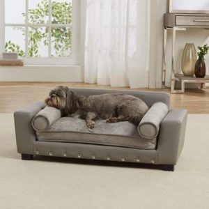 Enchanted Home Pet Grey Scout Pet Sofa