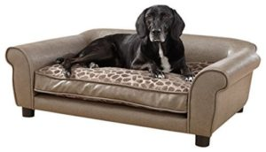 Enchanted Home Pet Pewter Rockwell Pet Sofa