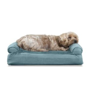 Furhaven Pet Dog Bed | Sofa-Style Couch Pet Bed for Dogs & Cats