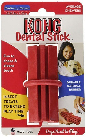 Kong Dental Stick Dog Toy