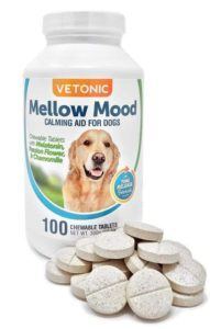 Melatonin for Dogs with Separation Anxiety, Mellow Mood Dog Calming Aid