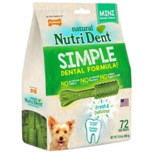 Nutri Dent Mini Edible Dental Chews