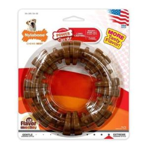Nylabone Textured Ring Dog Chew Toy