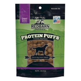 Peanut Butter Protein Puffs