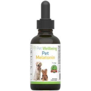 Pet Wellbeing Pet Melatonin 2oz.