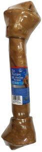 Pet Factory 100% American Chicken-Basted Beef Rawhide Bone