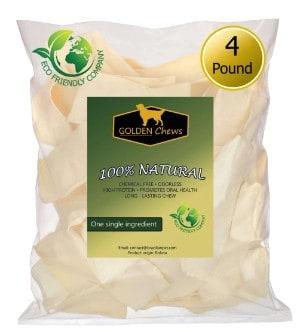 Golden Chews Natural Rawhide Chips