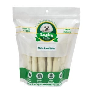 Lucky Premium Treats Rawhide Chews