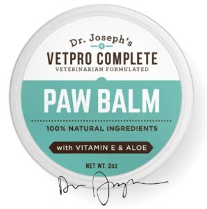 100% Natural Vet Formulated Paw and Nose Balm Wax for Dogs and Cats