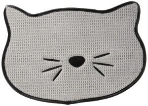 Bone Dry Microfiber Cat Shape Placemat