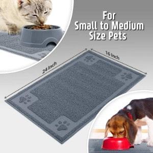 Cavalier Pets Non-Slip Cat Food Mat