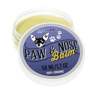 Dog Paw Balm - 100% Natural Paw Protection and Treatment Wax for Cracked Paw Pads