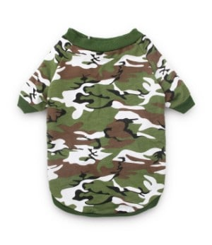 DroolingDog Camo Dog Shirt