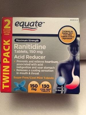 Equate 150 mg Ranitidine Twin Pack