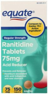 Equate 75 mg Ranitidine Tablets