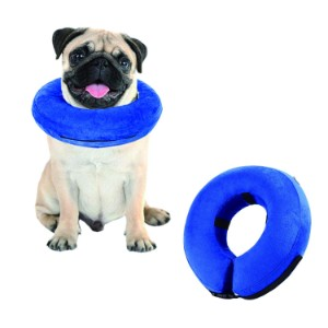 FIDGETERRELAX Protective Inflatable Pet Collar for Dogs