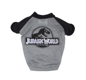 Jurassic World Logo Dog Shirt