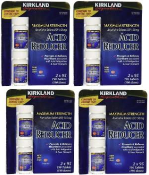 Kirkland Signature Maximum Strength 150 mg Ranitidine 4 Pack