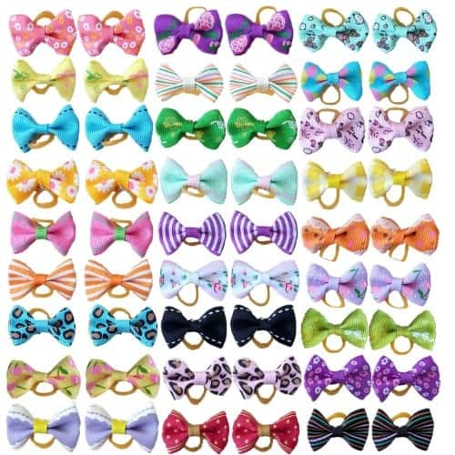 PET SHOW Pet Dog Hair Bows Bowknot
