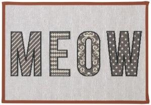 PetRageous Designed Tapestry Cat Placemat