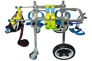 Quaz 4 Wheel Adjustable Dog Wheelchair