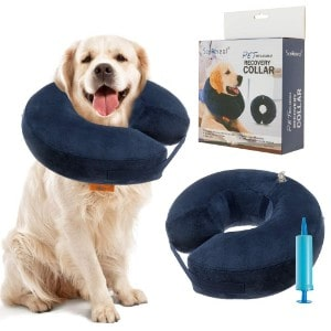 SCENEREAL Inflatable Recovery Collar for Dogs+