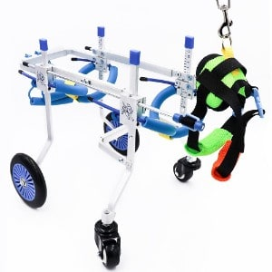 SURPCOS Adjustable Dog Wheelchair