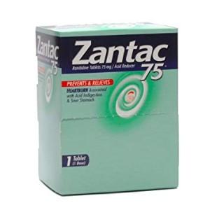 Zantac 75mg in Single Packets
