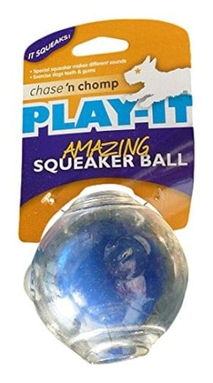 Chase 'n Chomp Amazing Squeaker Ball for Pets