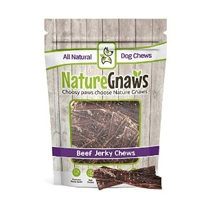 Nature Gnaws Beef Jerky Chews