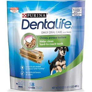 Purina DentaLife Daily Oral Care Mini Adult Dog Treats