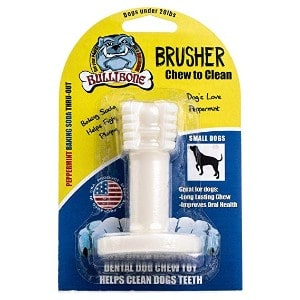 Bullibone Brusher - Dog Teeth Cleaning Bones for Small Dogs