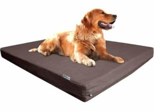 Dogbed4less Orthopedic Cooling Memory Foam Dog Bed