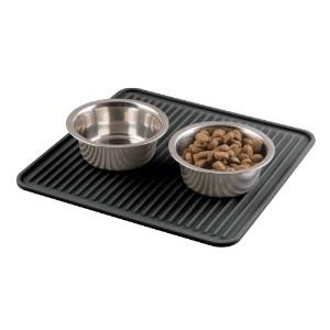 mDesign Premium Quality Square Food Mat