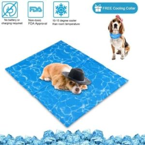 N&R Dog Cooling Mat/Pad/Bed - Cool Gel Technology