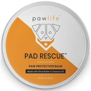 pawlife Dog Paw Balm - Natural Pad Protection Wax for Dry Cracked Paws