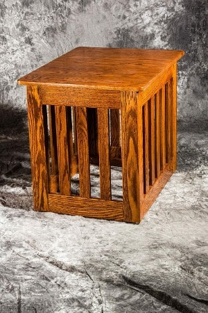 Pinnacle Dog Crate End Table