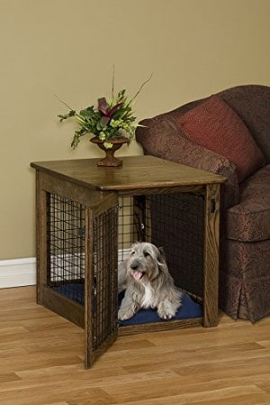 Pinnacle Woodcraft Dog Crate