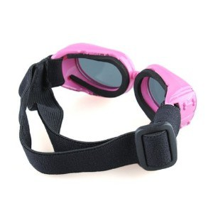 SODIAL(R) Pink Framed Dog Goggles