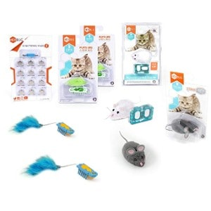 HEXBUG Deluxe Nano Cat Toy Pack