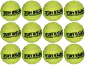 PetSport 12 Tuff Balls - Industrial Strength Dog Toys