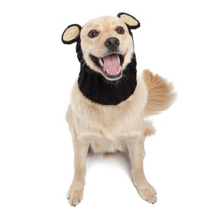 Zoo Snoods Black Bear Dog Costume