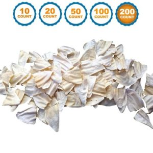 123 Treats - 100% Natural Cow Ears Dog Chews