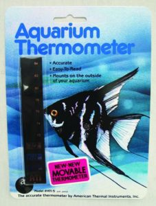 American Thermal Instruments Vertical Aquarium Thermometer