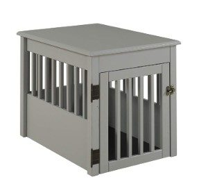 BarkWood Pet Crate End Table
