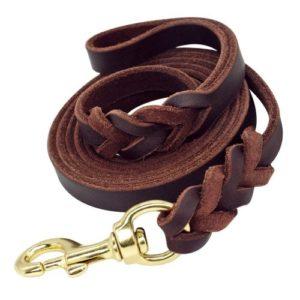 Beirui Leather Dog Leash
