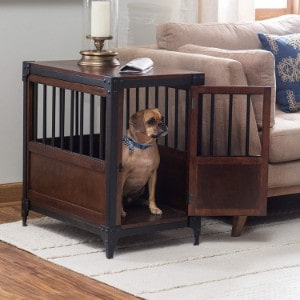 Boomer & George Wooden Pet Crate End Table